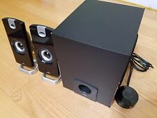 Cyber Acoustics Multimedia Speaker System with Subwoofer & Control Pod CA-3090