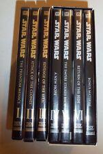 STAR WARS Episodes 1 2 3 4 5 6 & Bonus THX Widescreen 7 DVD's -Mint Condition LN