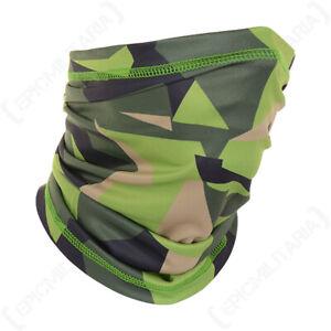 Neck Scarf Swedish Camouflage Multi-Function Gaiter Balaclava Camping Face Mask