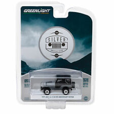 1979 JEEP CJ-5 GRAY ANNIVERSARY COLLECTION 6 1/64 MODEL BY GREENLIGHT 27940 C