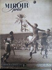 FOOTBALL CHAMPIONNAT CANNES/ROUBAIX REIMS/STRASBOURG N° 34 MIROIR SPRINT 1947