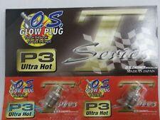 O.S. OS Glow Plugs P3 Ultra Hot Turbo FOR MAX 21VZ-B V-Spec Turbo Head 4pcs set