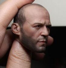 ██ Custom Jason Statham 1/6 Head Sculpt for Hot Toys Muscular Body Headplay ██