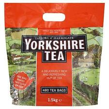 "New Stock ""YORKSHIRE TEA"" 480 Tea Bags( Taylors of Harrogate) 1.5kg"