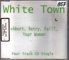 White town- Abort Retry Fail cd maxi single