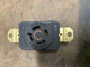New Pass & Seymour L1420-R - twist lock Receptacle 20A 125/250V