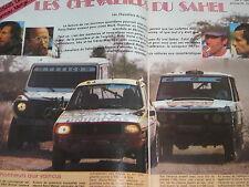 revue PARIS-DAKAR 1982 / AUTO-VERTE N° 10 / MARREAU METGE ICKX