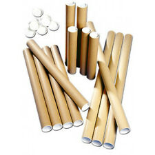 Cardboard Postal Tubes - Extra Strong Quality - All Sizes A4 A3 A2 A1 A0