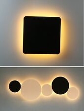 Indoor LED Wall Lamp Circle Round Shape Living Room Decor Home Lighting Fixture