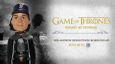 Ser Andrew Benintendi Bobblehead  Game of Thrones Boston Red Sox SGA 7-18-17 NEW