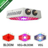 LED Grow Light Lamp 1000W Full Spectrum Hydroponic greenhouse Indoor Plant Bloom