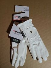 New listing Roeckl - Riding Gloves ROECK Grip-White-7.5