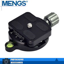 MENGS DM-55A Quick Release Plate + Clamp Compatible Arca-Swiss Benro Sirui Kirk