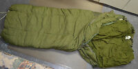 Used Canadian military 1 piece Cold weather outer arctic sleeping bag ( #O-51 )