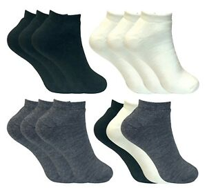 3 Pairs Womens Warm Winter No Show Thermal Ankle Trainer Socks for Cold Weather