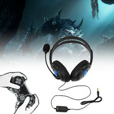 Stereo Wired Gaming Headsets Headphones with Mic for PS4 Sony PlayStation 4