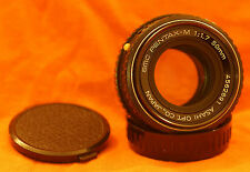 SMC Pentax-M 1:1,7 50mm Objektiv K-Bajonett auch für Sony NEX A7 A7R MFT m4/3