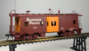 BALBOA HO SCALE BRASS SOUTHERN PACIFIC BAY WINDOW CABOOSE #1287 - JAPAN