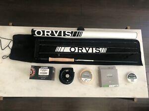 45 LB test Hi-Viz Giallo ORVIS Gel Spun Mosca Linea Di Supporto 100 a 1200 YD BOBINE