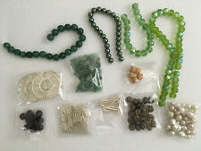 Mixed Lot of Beads and Findings - Lot L33