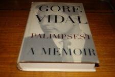 PALIMPSEST-A MEMOIR BY GORE VIDAL-SIGNED COPY