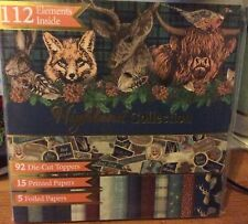 Highland Collection Card Making Kit Christmas Cards / Birthday Cards BN Sealed