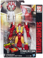 Transformers Hasbro Generations Titans Return W3 Deluxe Firedrive & Hot Rod AU