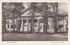Alte Ansichtskarte -- BAD PYRMONT - FÜRSTLICHES KURTHEATER -- postal. gel. 1916