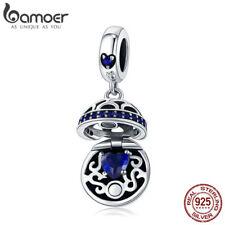 Bamoer .925 Sterling Silver Dangle charm Love Surprise Box With CZ Fit Bracelet