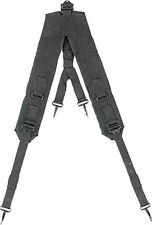 Suspenders  Y Style LC-1 Black Military GI Type  Rothco 8046