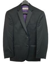 Men's Black Joseph Abboud Tuxedo Jacket Satin Notch Lapels Prom Groom Mason 50R