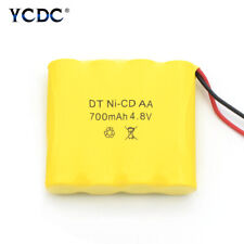 Rechargeable 4.8V 700mAh Ni-Cd AA Battery Pack For Models RC Boat Car Toys 636C