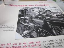 Das war die DDR Alltag Einkaufen Motorräder MZ aus Zschopau