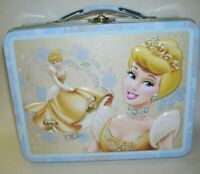 Tin Box Cinderella Metal Lunchbox