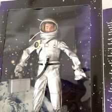 "GI Joe Mercury Astronaut 12"" Action Figure Space suit Helmet 90s Hasbro"