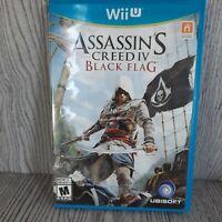Assassin's Creed IV 4: Black Flag  Wii U 2013 Complete Working.