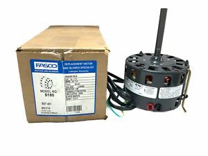 Fasco D180 1/8-1/11 Hp Shaded Pole Motor 1050 Rpm 2 Spd 115 Volts