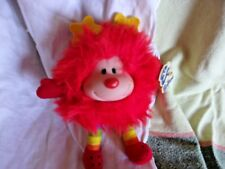 rainbow brite bright vintage old sprite red doll plush cloth tag 1980's toy