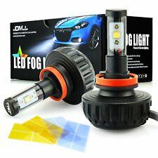 2X 4S H11 2200W Headlight Foglight Daytime Running Light LED Headlights,10000K