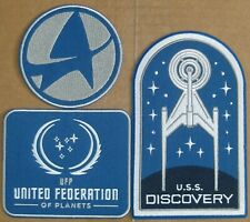 STAR TREK DISCOVERY CBS ALL ACCESS 3 PATCHES SEASON 3 PREMIERE OFFICIAL PROMO