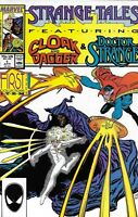 Strange Tales Cloak And Dagger Doctor Strange Comic Issue 1 Copper Age 1987