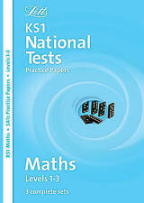 Letts Key Stage 1 Practice Test Papers - Maths: Levels 1-3 (National Test Practi