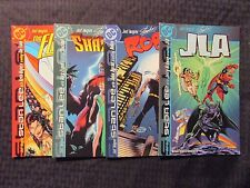 DC Just Imagine Stan Lee's LOT of 4 ROBIN JLA SHAZAM! THE FLASH NM Jerry Ordway