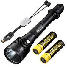 NITECORE MT42 Flashlight -1800Lm w/2x NL183 Batteries +Portable USB charger