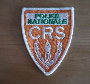 POLICE NATIONALE Embroidered Iron On / Sew On Patch Badge Applique 016