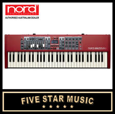 NORD ELECTRO 6D 61 SW SEMI WEIGHTED ACTION KEYBOARD ORGAN SYNTH NEW NE6D-61
