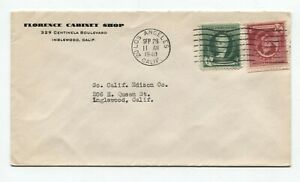 Los Angeles CA to Inglewood CA Florence Cabinet Shop 9/28/1940 Whistler Stuart