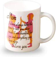11 Oz Coffee Mug I Love You Mom Funny Coffee Mug gratitude Mug mom Birthday Gift