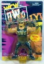 WCW Monday Nitro - Vibrating Hollywood Hulk Hogan OSFTM NWO Wrestling (MOC)