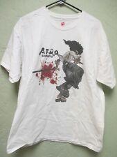 "Vintage- ""AFRO SAMURAI"" (Size L) Promo T-Shirt 2006 Bandai Namco Video Games"